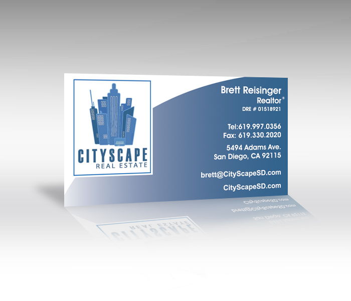 real estate business card printing - Business Card Printing San Diego