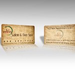 Spa Business Card Printing