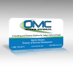 Technology Industry Business Card