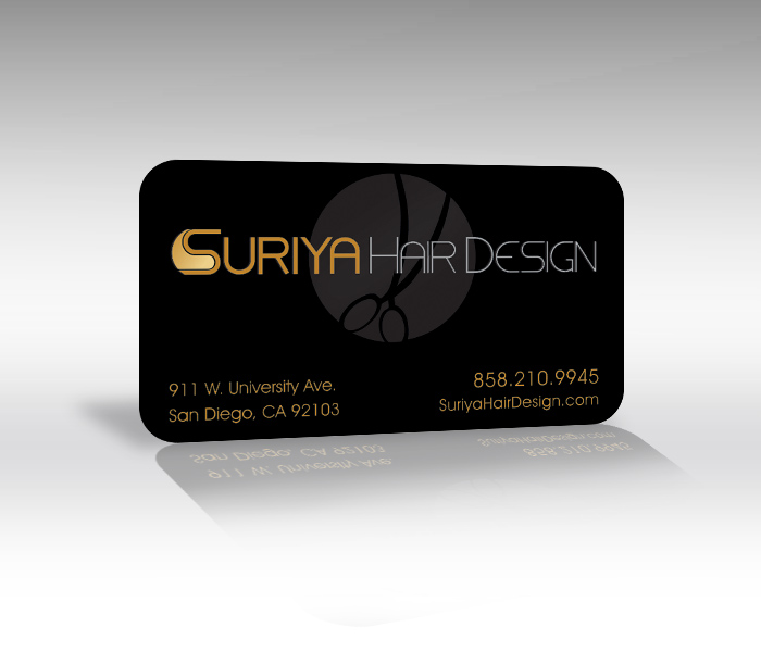 Business cards san diego business card printing plastic business business cards san diego salon business card printing reheart Image collections