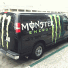 Vehicle-Wrap-Monster-Energy-Van
